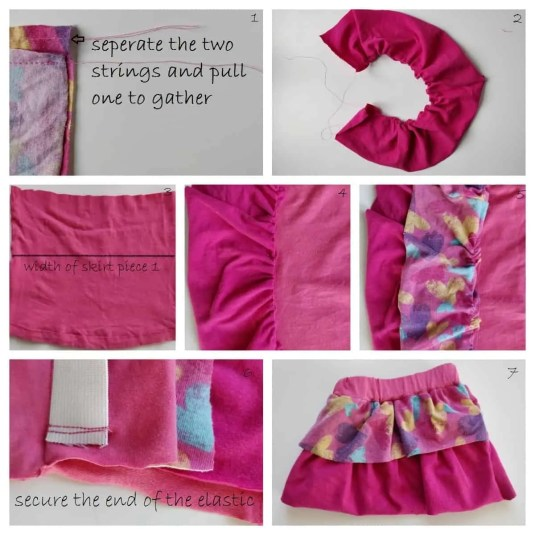 Skirt Pattern for Handmade dolls, make your own Winter Warmer Mia doll with the easy step by step tutorial, photos and pattern #ragdol #handmandedolls #dollsDIY #dollcraft #makeyourowndoll #homemadecrafts #toddlerdoll