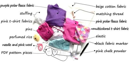 Handmade dolls, make your own Winter Warmer Mia doll with the easy step by step tutorial, photos and pattern #ragdol #handmandedolls #dollsDIY #dollcraft #makeyourowndoll #homemadecrafts #toddlerdoll