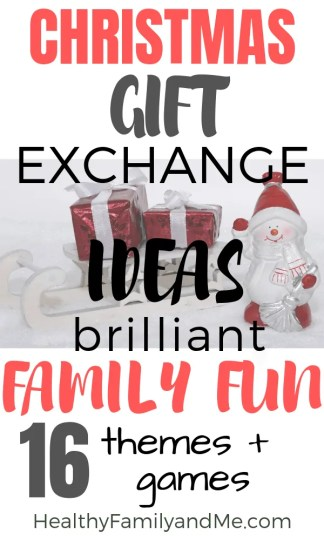 Need a new Christmas family tradition. Check out the Christmas gift exhange games and themes for families #christmas #christmasgifts #christmastraditions