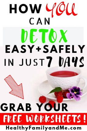 The best body cleanse diet in 7 days. Detox cleanse now with the free resources #detox #bodycleansediet #healthyliving #freeprintables