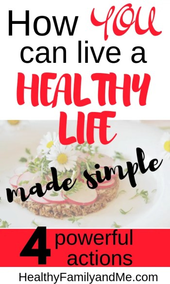 Discover how to live a healthy life made super simple. Discover the best tips to healthy living with healthy lifestyle tips and motivation. #healthylifestyle #healthyliving #healthy #healthylife #healthyeating