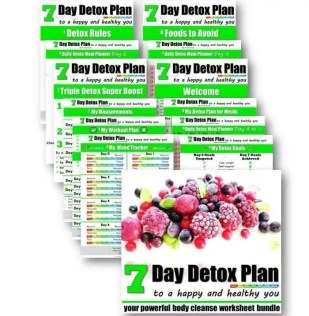 7 day detox plan to a happy and healthy you. Healthy Lifestyle tips. #healthylifestyle #detox #cleaneating #healthylifestyletips *healthyfamily