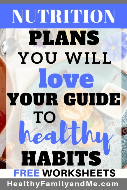 The best nutrition plans to teach you healthy habits. Detox now and kickstart your healthy lifestyle. #healthyhabits #nutritionplans #healthyliving #cleaneating #healthylifestyle