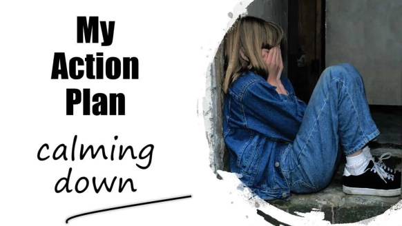 How to calm down my child with this calming strategy for kids #calmdown #parenting