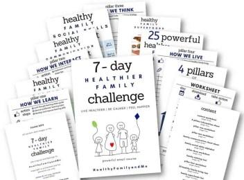 healthier family challenge workbook