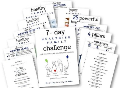 healthier family challenge workbook