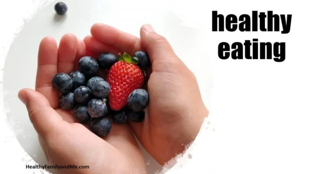 Healthy habits for kids healthy eating