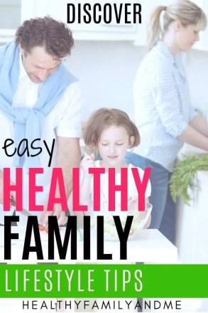 healthy happy family