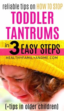 how to calm down child tantrum