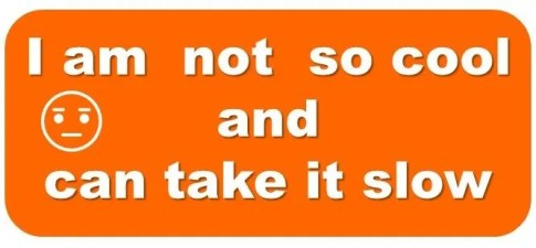 how to calm down orange zone calming tool