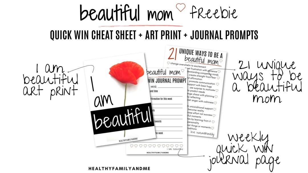 Beautiful mom free printables #freeprintables #momlife #motherhood #beautifulmom
