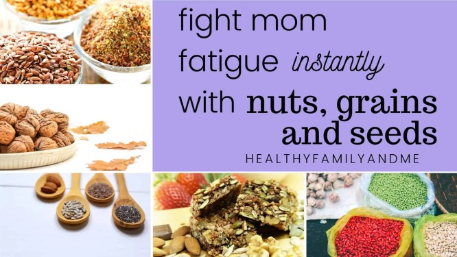 Foods to fight mom fatigue #energyfoods