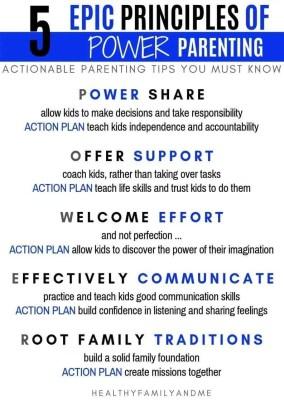 5 EPIC PRINCIPLES OF POWER PARENTING