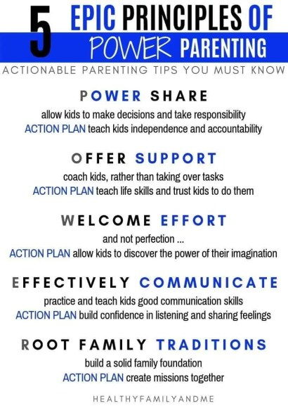 5 EPIC PRINCIPLES OF POWER PARENTING