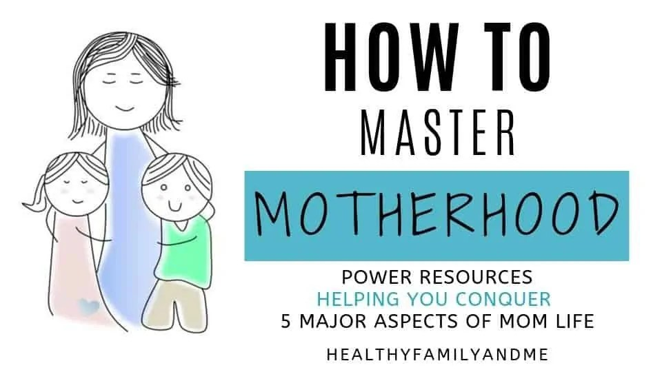 mom and kids, happy family, how to master motherhood course