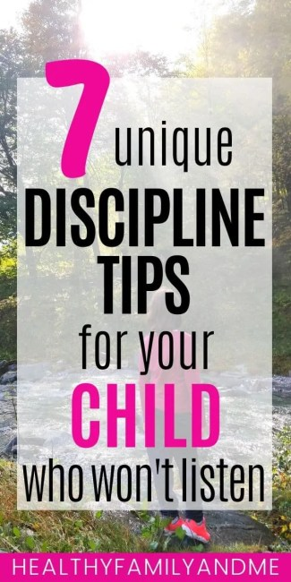 discipline tips for your child