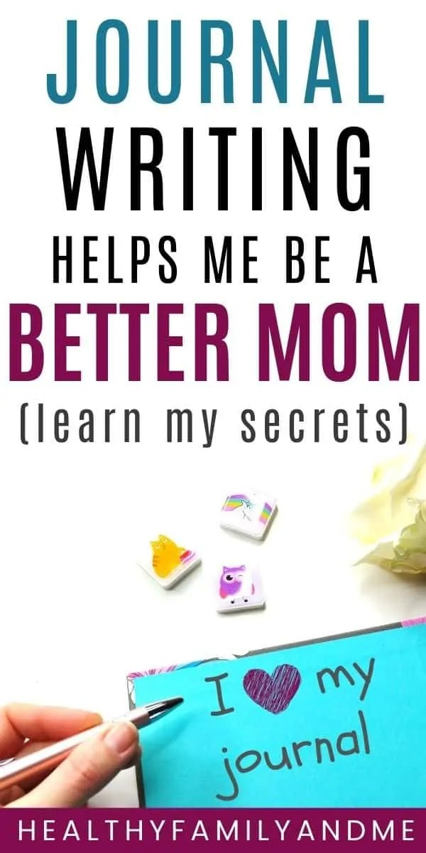 better mom journal writing how to