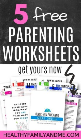 parenting worksheets