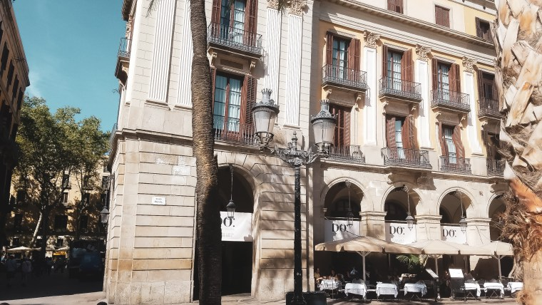 Our Post Cruise Stay at Hotel DO: Plaça Reial
