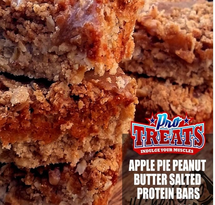 APPLE PIE PEANUT BUTTER SALTED PROTEIN BARS
