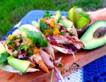 Chicken Mango Taco