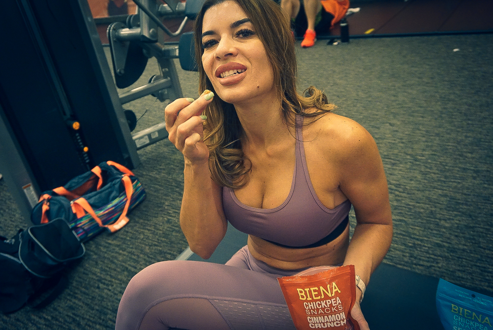 healthy snacks, biena chickpeas, nutrition