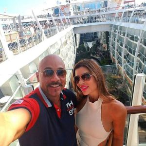 Couples cruising on harmony of the seas cruise