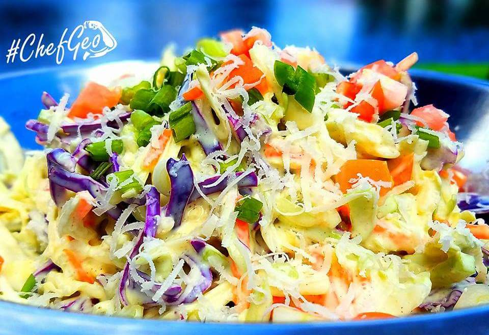 POPULAR BEST TASTING EASY HEALTHY COLESLAW RECIPE