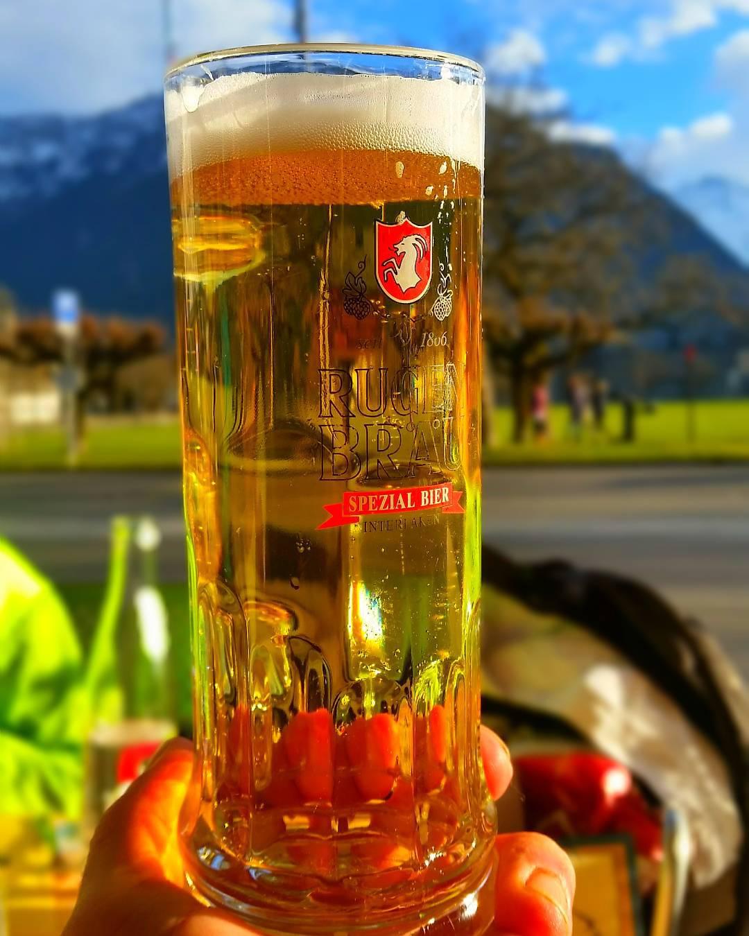 swiss beer in switzerland