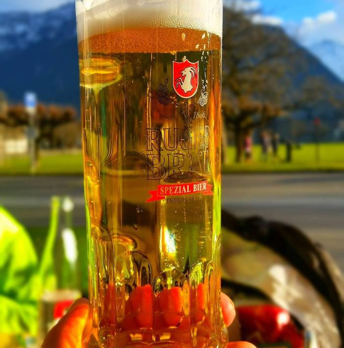 swiss beer in switzerland