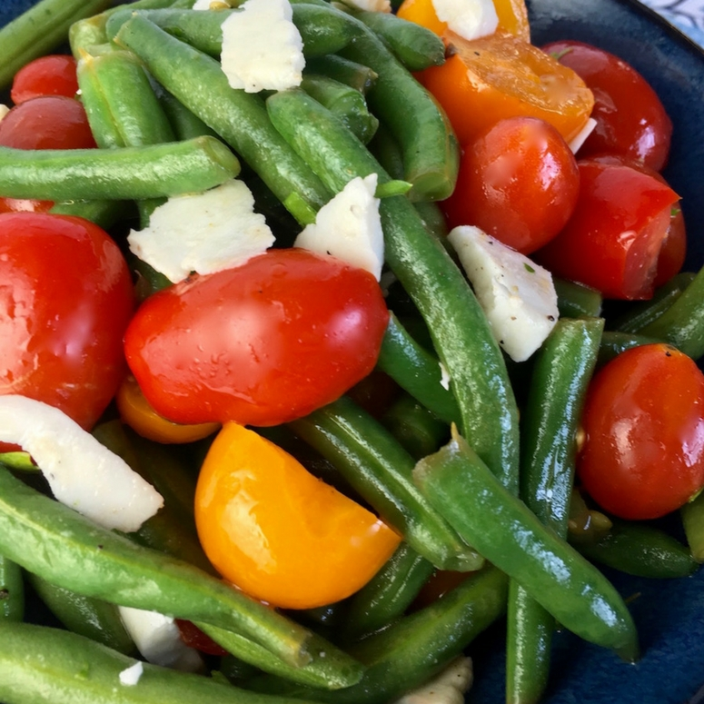 This easy green bean salad is delicious and will help you lose weight in no time