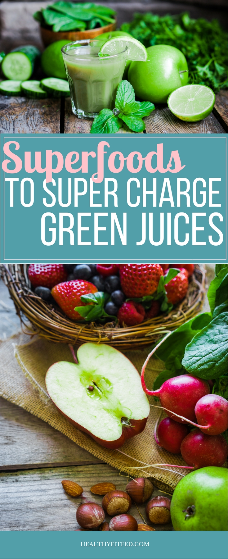 Super foods to add to your green juice. Get the most from you daily juice!