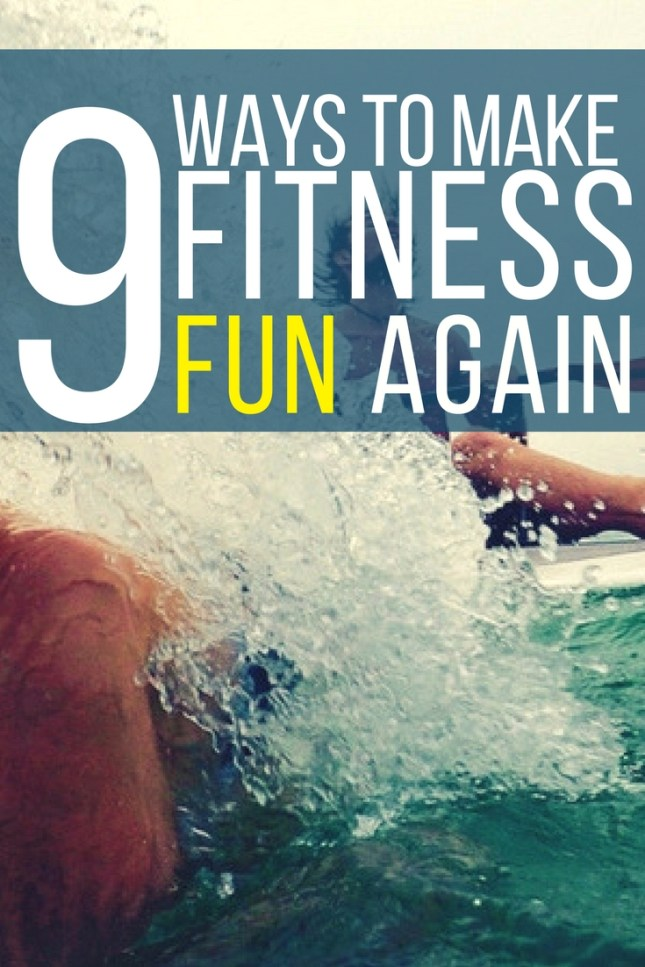 Make your fitness routine fun again. How to spice it up, when your workout has become boring!