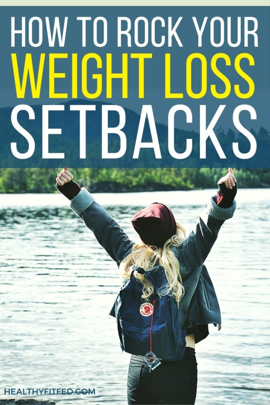 How to slip up during your weight loss journey and still feel great, AND reach your weight loss goals!