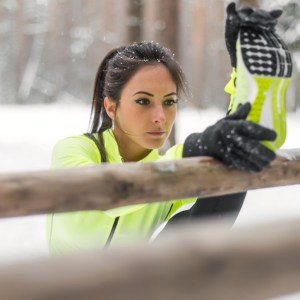 How to stay warm during a cold weather workout.