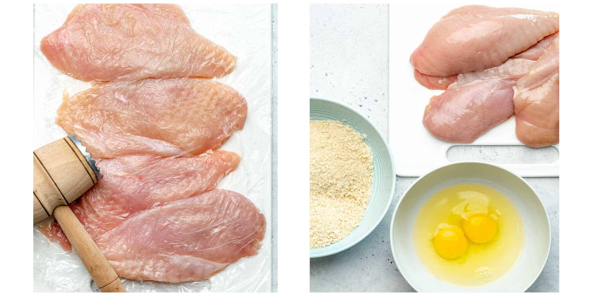 air fryer parmesan chicken