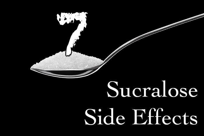 sucralose side effects