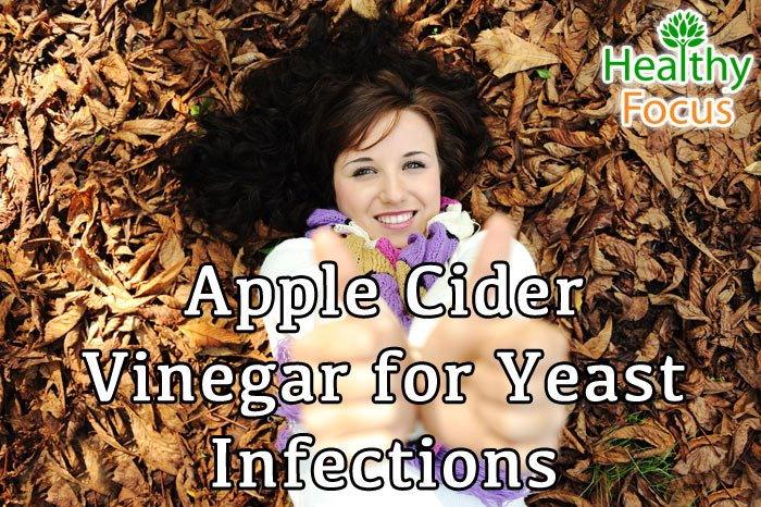 apple cider vinegar for yeast infections