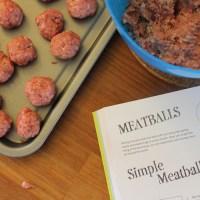 Cookbook Review : Cool Kids Cook & Meatballs recipe