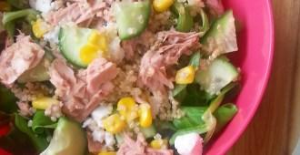 Quinoa salade met tonijn 1
