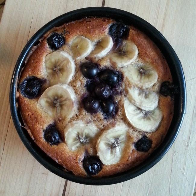 Mini bananenbroodje met blauwe bessen (5)