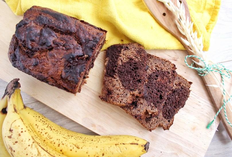 gemarmerd bananenbrood 1