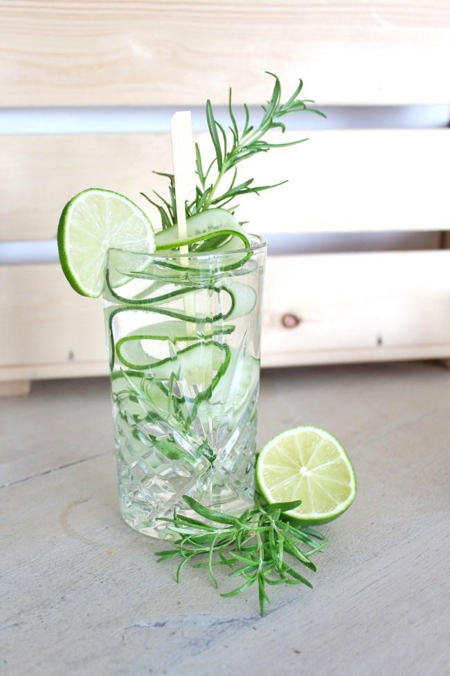 Alcoholvrije gin tonic 3