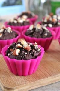 suikervrije brownie muffins 1
