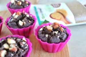 suikervrije brownie muffins 2