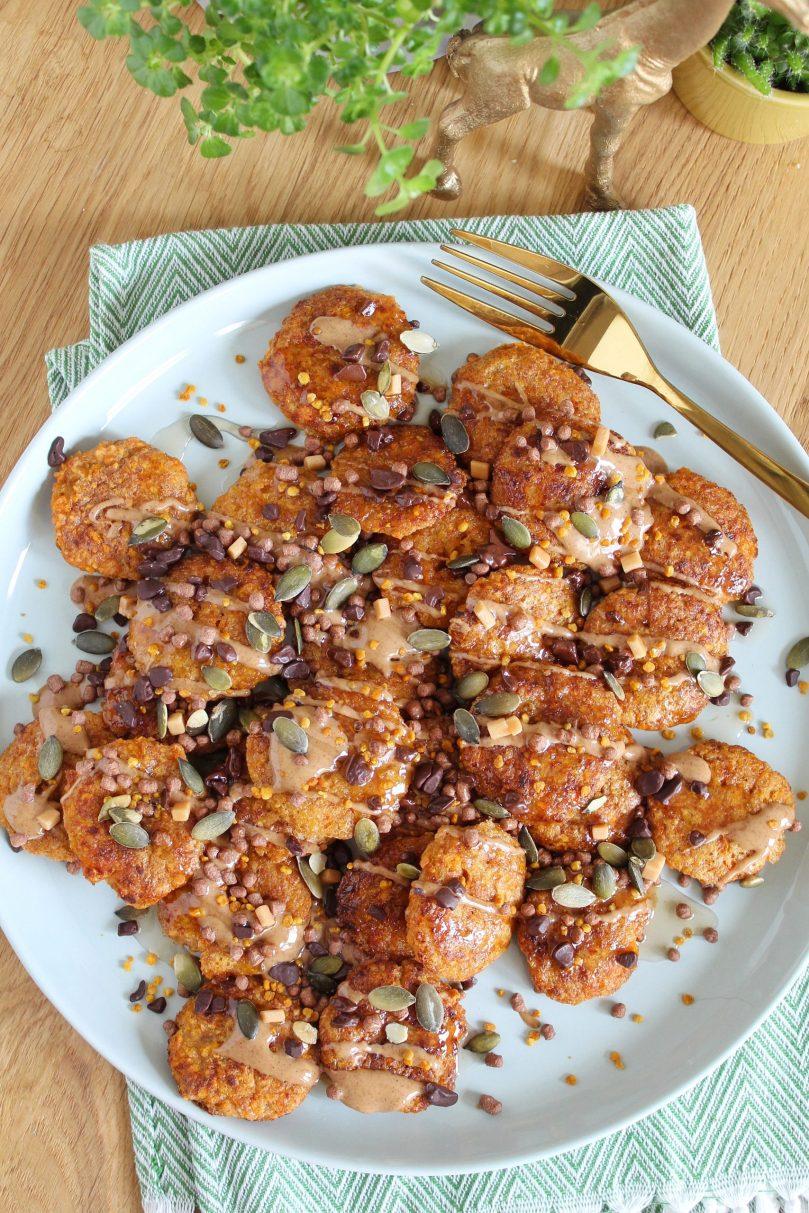 oranje poffertjes glutenvrij