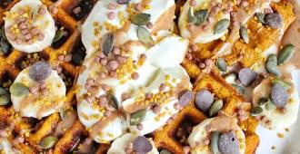 pompoen wafels | glutenvrij en koolhydraatarm