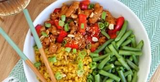 Vegetarische babi ketjap