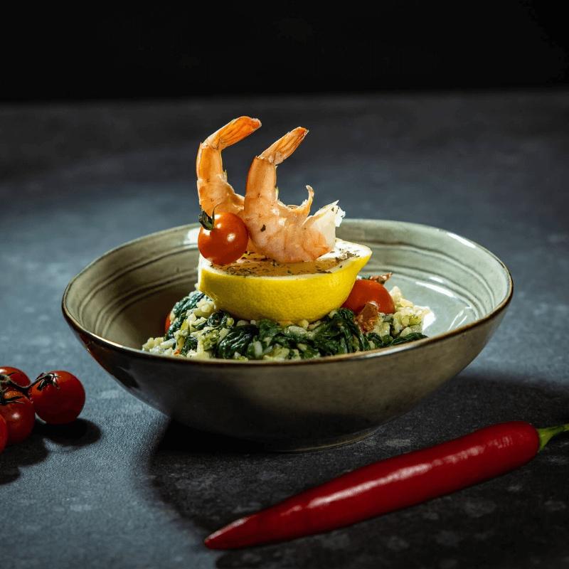 Italiaanse zeevruchten risotto van Maud