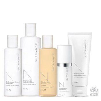Nutriance Organic Set Woman, Combination to Oily skin